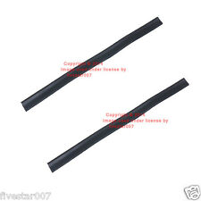 Left + Right 2 nEw Front Door glass Window Lift Rail Seal Rubber Set for VW