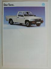 Prospekt  Volkswagen VW Taro, 12.1992, 16 Seiten