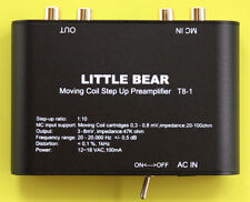 LITTLE BEAR T8-1 BLACK Moving Coil Turntable MC Step-Up Electronic Transformer