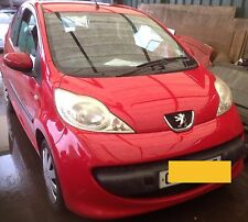 PEUGEOT 107 2005 | DS MANUAL DOOR MIRROR . BREAKING PARTS..3562