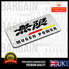 Mugen Power Boot SIDE BADGE EMBLEMA NUOVO DESIGN HONDA assistenza clienti CRV Civic RR RS S Type R