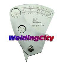 Welding Gauge Fan-shape Weldment Angle Height Width 0-20mm | US Seller Fast Ship