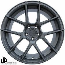 "19"" 5x120 UP520 WHEELS SET 19x8.5/9.5 ET15/22 MATTE BMW E60 645ci 650i 750i 745i"