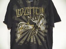 Vintage 90s LED ZEPPELIN Rock Band Swan Song logo T shirt