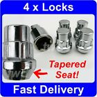 4 x TAPER SEAT ALLOY WHEEL LOCKING NUTS FOR HONDA SECURITY LUG BOLTS [6P]