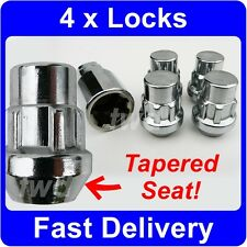 4 x TAPER SEAT ALLOY WHEEL LOCKING NUTS FOR HONDA CIVIC SECURITY LUG BOLTS [6P]