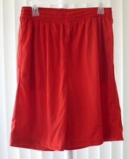Shorts with Pockets Mesh Red Pro Player New Medium