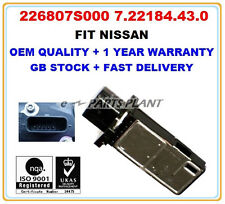 Mass Air Flow meter sensor 226807S000 NISSAN Almera X-Trail 350Z QASHQAI PICK UP
