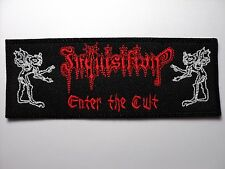 INQUISITION ENTER THE CULT      EMBROIDERED PATCH