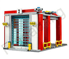 LEGO 60110 City Fire Station: Fire truck's garage only (Split From 60110)