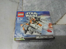 Lego Star Wars Snowspeeder Microfighter Series 2 75074 New MISB
