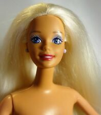 Blonde Hair, Blue Eyes 90s Ballerina Barbie Doll - Nude