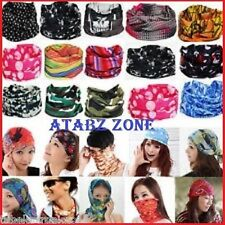 3pcs MULTI FUNCTIONAL STYLISH UNISEX BANDANA SCARF,SEAMLESS HEADNECKER BANDANAS