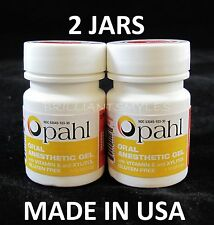 2 JARS Opahl 20% Benzocaine Topical Anesthetic MANGO Tattoo Numbing Piercing