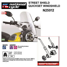 HARLEY XL 1200X SPORTSTER FOURTY-EIGHT NATIONAL CYCLE QUICKSET WINDSHIELD N25012