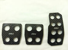Toyota, Scion Racing Carbon Fiber Manual Gas/Brake Cover Foot Pedals Pads A/T