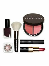 Bobbi Brown Runway Beauty Secrets Set: Bronzer Lipstick Eyeshadow Mascara Brush