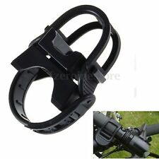 360 Swivel Cycling Bicycle Light Front LED Flashlight Torch Mount Bracket Holder