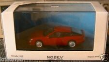 ALPINE RENAULT V6 TURBO ROUGE NOREV 1/43 NEW RED ROSSO VEHICULE MINIATURE