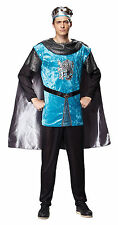 MEDIEVAL ROYAL #KNIGHT PRINCE BLUE UNIFORM COMPLETE OUTFIT FOR MEN FANCY DRESS