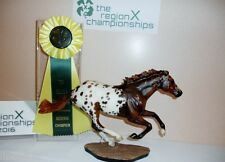 Breyer Horse LSQ OOAK CM Etched Appaloosa Smarty Jones by Lindy Pinkham