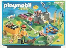 2001 Playmobil 3124 Farm Starter Set Toy Figures Ages 4+