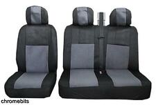 GREY BLACK FABRIC SEAT COVERS 2+1 FOR MERCEDES VITO SPRINTER NEW
