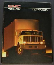 1986 GMC Top Kick Truck Catalog Sales Brochure Excellent Original 86