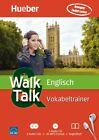"""Englisch Vokabeltrainer """"WALK & TALK"""" Hörkurs Lernen ohne Buch Sprachkurs Hueber"""