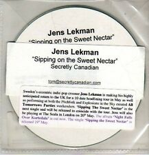 (CM809) Jens Lekman, Sipping On The Sweet Nectar - 2008 DJ CD