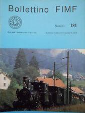 Bollettino treni FIMF n°181 Locomotive ritrovate Gr. 880.016 ALe 883  [TR.33]