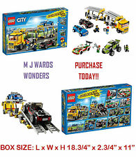 LEGO City 66523 Super 3 en 1 60060 60053 60055 Pack 5 Value coches + 4 Minifiguras