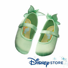 Disney Store Tinkerbell Baby Dress Up Shoes Butterfly appliqué on Heel Sz 6/12 M