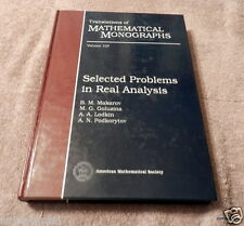 Selected Problems in Real Analysis Vol. 107 by A. N. Podkorytov, B. M....