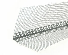 Angle Bead with fibreglass mesh Aluminium 2.5m  -!!! 10 pack !!!