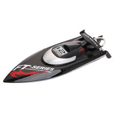 NEW Arrived FT012 Upgraded FT009 2.4G 4CH Brushless RC Racing Boat Black