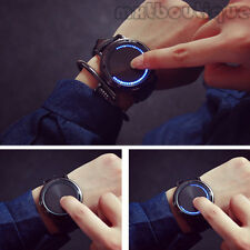 QUE  Men's New Style Onslaught of Giant Touch Screen Watch LED Light Amazing