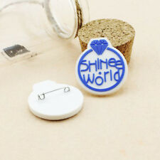 2pics SHINEE PINS BADGES GOODS KPOP NEW