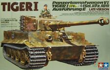Pz. Kpfw VI Ausf. e Tiger I Late Producción serie// (Wehrmacht MKGS) 1/35 Tamiya