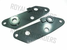 ROYAL ENFIELD NEW REAR ENGINE PLATES 350CC (PAIR) (code2540)