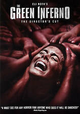 Movie DVD Green Inferno Eli Roth's The Directors Cut Most amazing thriller Cani/