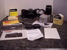 Pentax A3000 35mm SLR Film Camera With Assoceries Tested and Works
