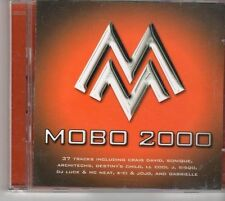 (EU657) MOBO 2000, 37 tracks various artists  - 2CDS - 2000 CD