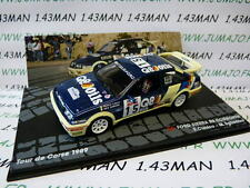 voiture 1/43 IXO Altaya Rallye FORD Sierra RS cosworth Tour de Corse 1989 Cunico