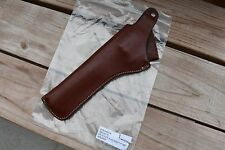 "Guide Gear Brown Leather Ruger Vaquero 7.5"" Hip Holster LH"