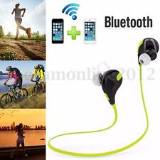 Wireless Bluetooth 4.1 Sports Headset Earphone Mic For Phones iPhone 6 IPod iPad