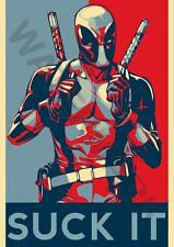 DEADPOOL MARVEL SUPERHEROES COMIC MOVIE A3 ART PRINT PHOTO POSTER GZ6046