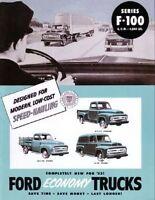 Ford F-100 Pickup Truck Steel Running Board Set 53,54,55,56 1953,1954,1955,1956