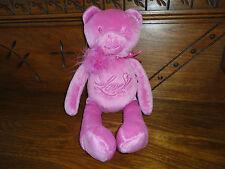 La Senza Lingerie 2005 LOVE BEAR Fushia Pink Plush Retired RARE