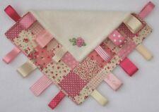 Meine Spezial Little Decke shabby chic rose Schön Flickwerk TAGGY Baby Geschenk